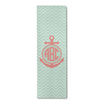 Chevron & Anchor Runner Rug - 3.66'x8' (Personalized)