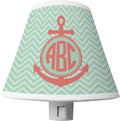 Chevron & Anchor Shade Night Light (Personalized)