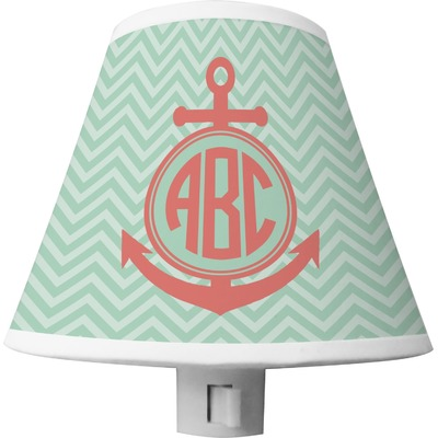 Chevron & Anchor Shade Night Light (Personalized)