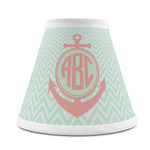 Chevron & Anchor Chandelier Lamp Shade (Personalized)