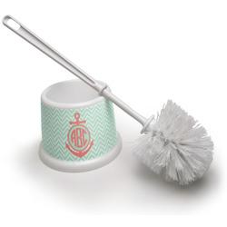 Chevron & Anchor Toilet Brush (Personalized)