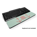 Chevron & Anchor Keyboard Wrist Rest (Personalized)