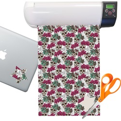 Sugar Skulls Sticker Vinyl Sheet (Permanent)