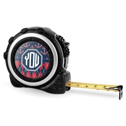 Anchors & Argyle Tape Measure - 16 Ft (Personalized)
