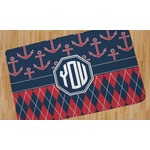 Anchors & Argyle Area Rug (Personalized)