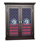 Anchors & Argyle Cabinet Decal - Custom Size (Personalized)