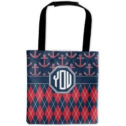 Anchors & Argyle Auto Back Seat Organizer Bag (Personalized)