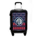 Anchors & Argyle Carry On Hard Shell Suitcase (Personalized)