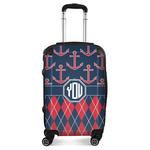 Anchors & Argyle Suitcase (Personalized)