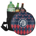 Anchors & Argyle Collapsible Cooler & Seat (Personalized)