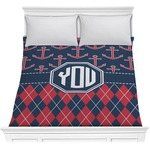 Anchors & Argyle Comforter (Personalized)