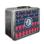 Anchors & Argyle Lunch Box (Personalized)