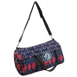 Anchors & Argyle Duffel Bag (Personalized)