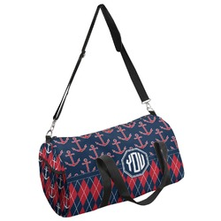 Anchors & Argyle Duffel Bag - Multiple Sizes (Personalized)