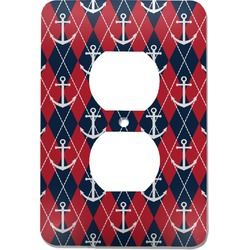 Anchors & Argyle Electric Outlet Plate (Personalized)