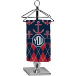 Anchors & Argyle Finger Tip Towel - Full Print (Personalized)