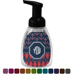 Anchors & Argyle Foam Soap Dispenser (Personalized)