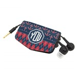 Anchors & Argyle Genuine Leather Cord Wrap (Personalized)