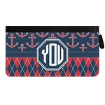 Anchors & Argyle Genuine Leather Ladies Zippered Wallet (Personalized)