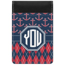 Anchors & Argyle Genuine Leather Small Memo Pad (Personalized)