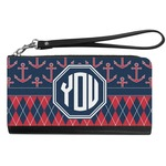 Anchors & Argyle Genuine Leather Smartphone Wrist Wallet (Personalized)