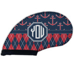 Anchors & Argyle Golf Club Cover (Personalized)