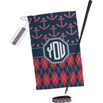Anchors & Argyle Golf Towel Gift Set (Personalized)