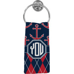 Anchors & Argyle Hand Towel - Full Print (Personalized)
