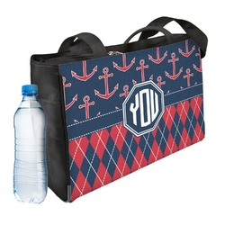 Anchors & Argyle Ladies Workout Bag (Personalized)