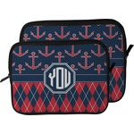 Anchors & Argyle Laptop Sleeve / Case (Personalized)