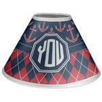 Anchors & Argyle Coolie Lamp Shade (Personalized)