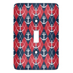 Anchors & Argyle Light Switch Covers - Multiple Toggle Options Available (Personalized)