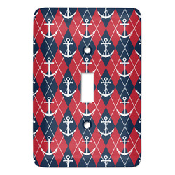 Anchors & Argyle Light Switch Covers (Personalized)