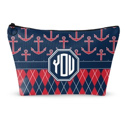 Anchors & Argyle Makeup Bags (Personalized)