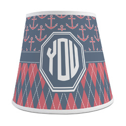Anchors & Argyle Empire Lamp Shade (Personalized)