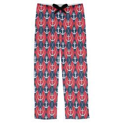 Anchors & Argyle Mens Pajama Pants (Personalized)