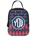Anchors & Argyle Neoprene Lunch Tote (Personalized)