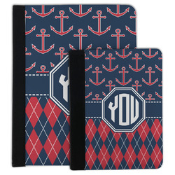 Anchors & Argyle Padfolio Clipboard (Personalized)