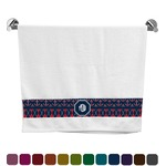 Anchors & Argyle Bath Towel (Personalized)