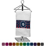 Anchors & Argyle Finger Tip Towel (Personalized)