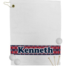 Anchors & Argyle Golf Towel (Personalized)