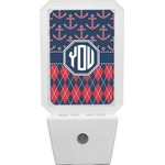 Anchors & Argyle Night Light (Personalized)