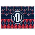 Anchors & Argyle Placemat (Laminated) (Personalized)