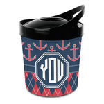 Anchors & Argyle Plastic Ice Bucket (Personalized)