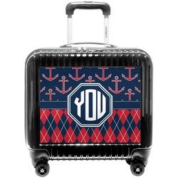Anchors & Argyle Pilot / Flight Suitcase (Personalized)