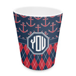 Anchors & Argyle Plastic Tumbler 6oz (Personalized)