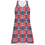 Anchors & Argyle Racerback Dress (Personalized)