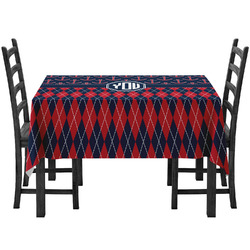 Anchors & Argyle Tablecloth (Personalized)