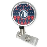 Anchors & Argyle Retractable Badge Reel (Personalized)