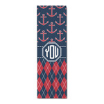 Anchors & Argyle Runner Rug - 3.66'x8' (Personalized)